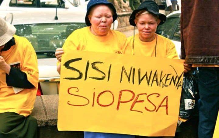 Love and fear: Tanzania's albino women