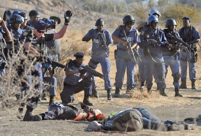 No learning from Sharpeville massacre