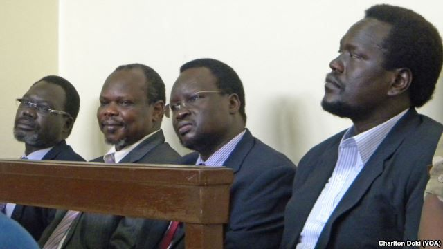 South Sudan frees leaders accused of plotting coup