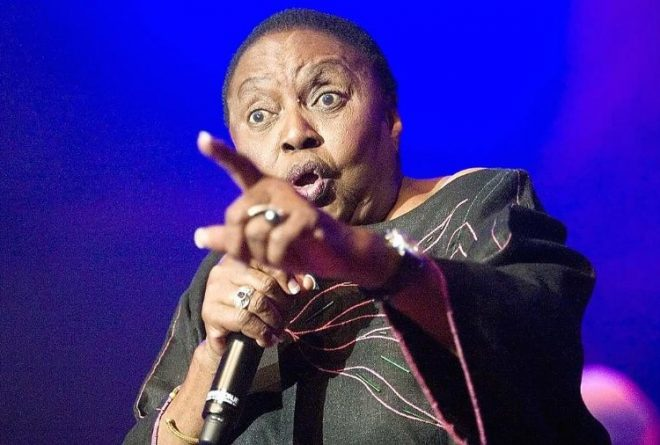 Will the new Miriam Makeba please stand up