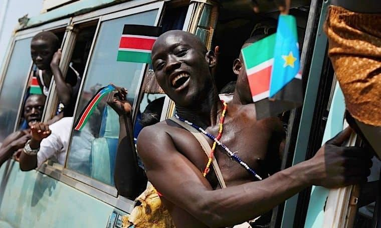 A human face in South Sudan