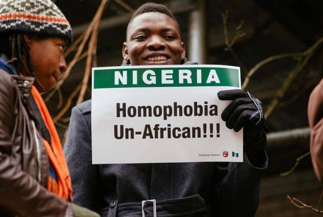 A Nigerian gay rights activist in exile