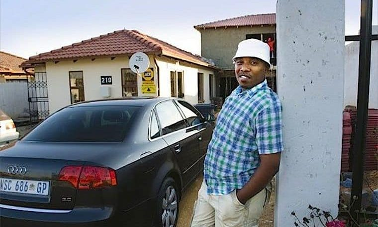 African middle class betrays the Have-Nots