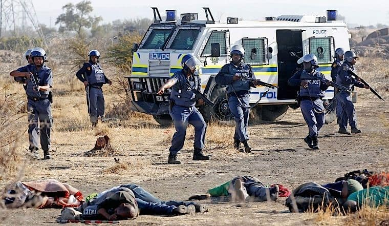 Marikana film shows life is cheap in SA