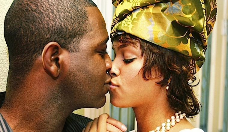 Africans are NOT ashamed to kiss