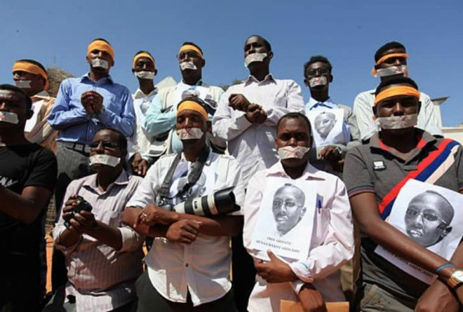 Somalia criticised for media arrests