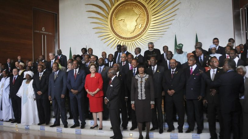 The AU shuffles towards democracy, looking over its shoulder