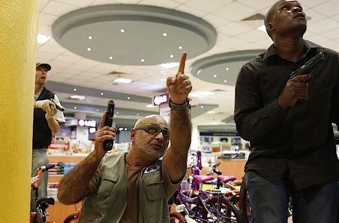 Affluent Kenyans with guns