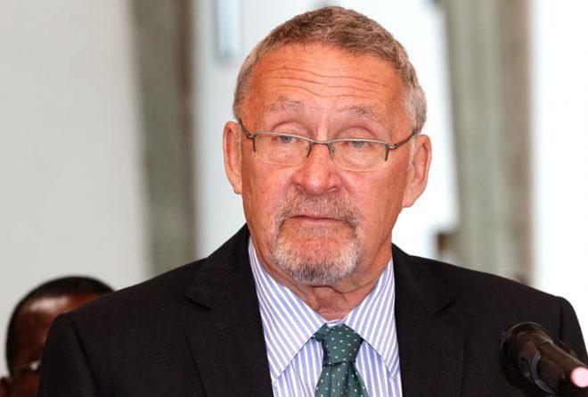 Zambia gets a white interim president