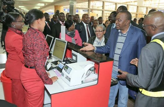 Uhuru Kenyatta hands over powers and leaves for The Hague as civillian