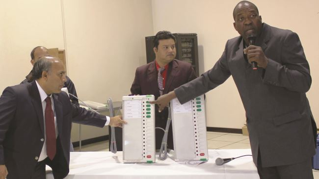 Namibia holds Africa's first e-vote