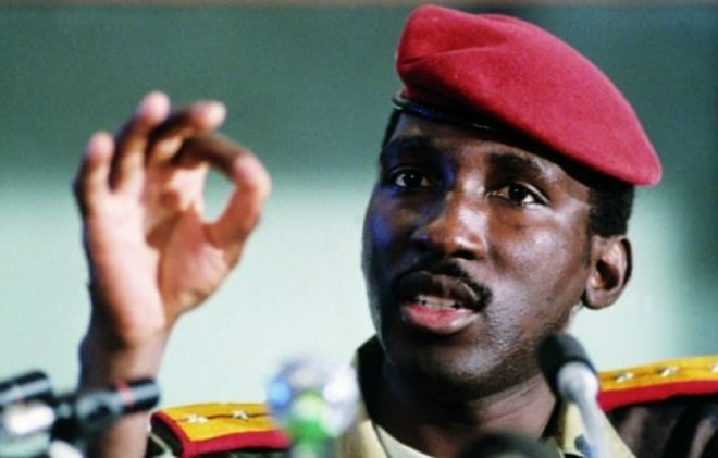 Burkinabe youths participate in renaming of Charles de Gaulle Avenue to Thomas Sankara
