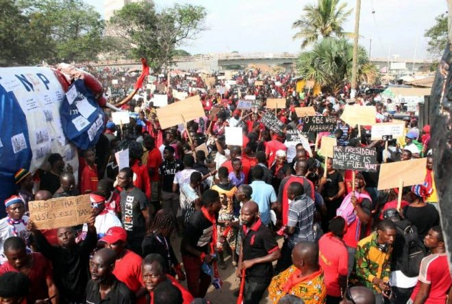 Protest in Ghana over power cuts