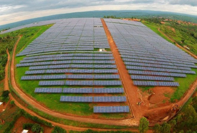 Rwanda launches east Africa's first utility-scale solar energy project