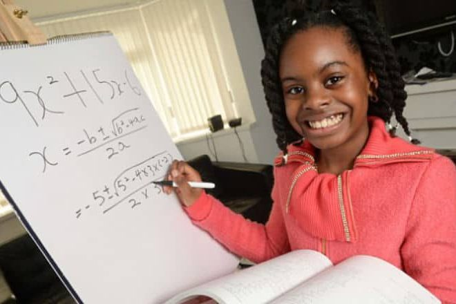 10 Year-old Nigerian child accepted in British university