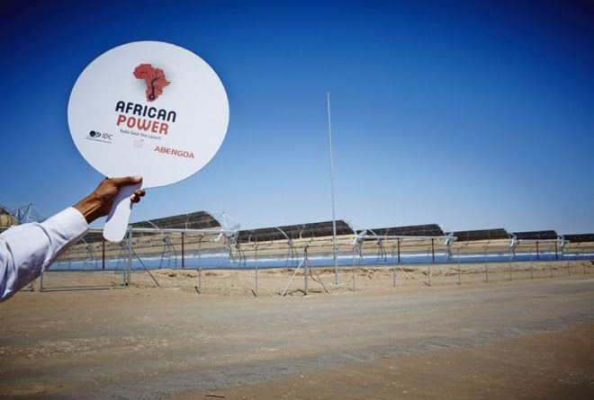 South Africa launches giant solar thermal electricity plant