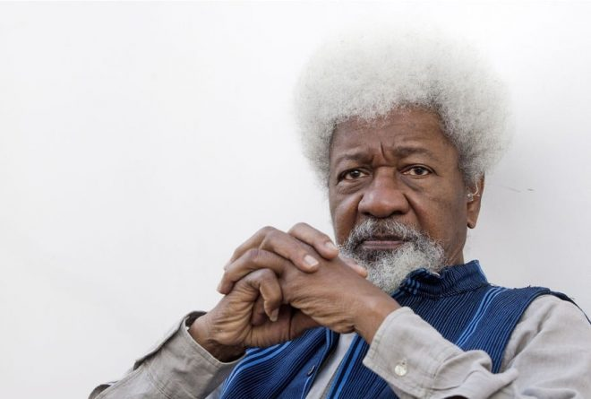 "Wole Soyinka says ""I would like to be nominated for a Grammy"""