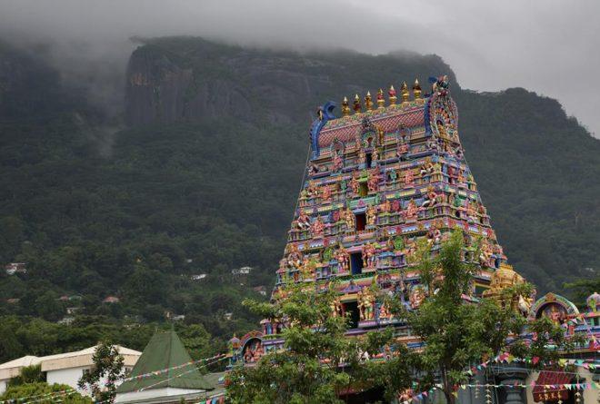 The Arulmigu Navasakti Vinayagar Temple in Seychelles