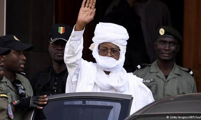 Ex-Chadian dictator's trial begins amidst chaos in Senegal