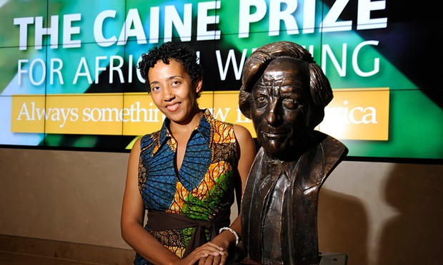 Caine Prize winner shares her £10k prize