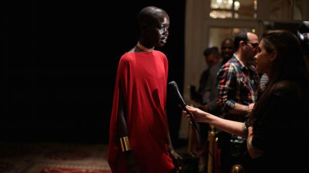 Sudanese model Nykhor Paul blasts industry make-up artists