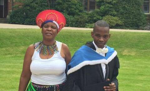 Ntokozo Qwabe: From supermarket cashier to Oxford graduate