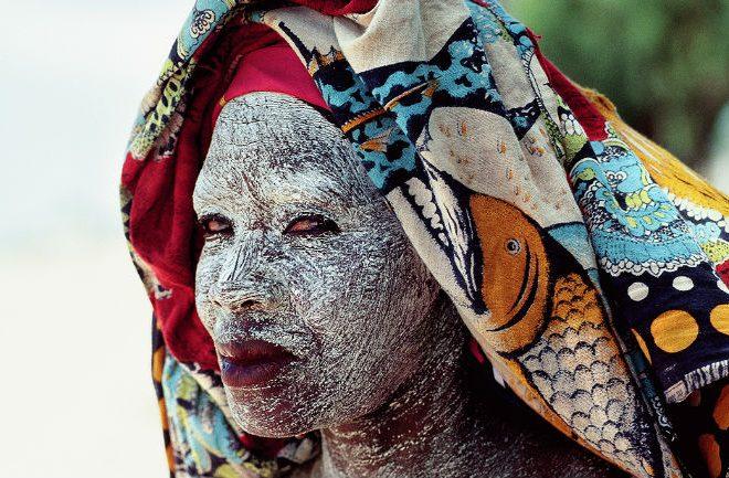 Musiiro, Mozambique's white face mask