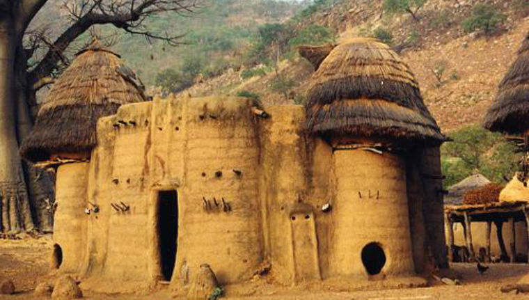 Takienta tower-houses in Togo