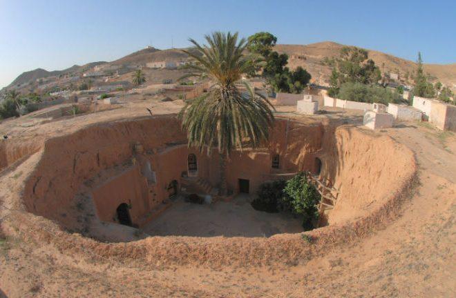 The Underground homes of Tunisia