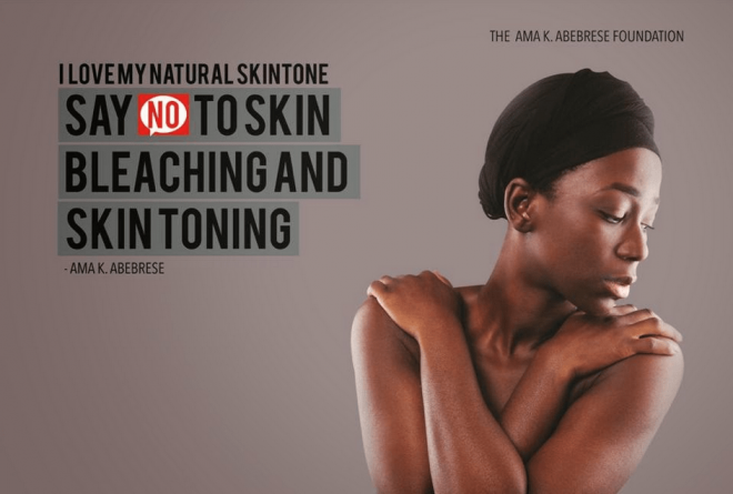 Celebrities join 'I Love my Natural Skintone' campaign