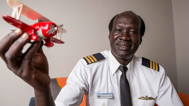 From refugee to qualified commercial pilot