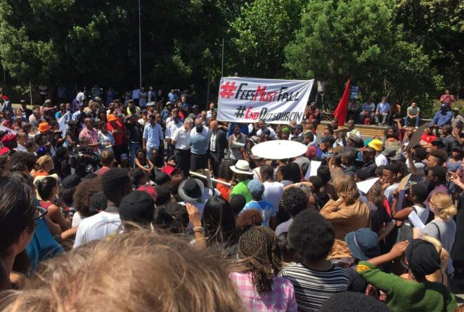 PHOTOS: Wave of protests sweeps through SA universities