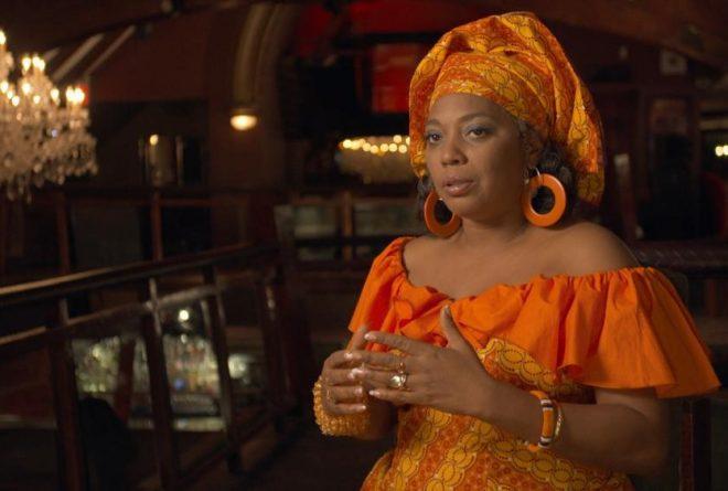 Yeni Kuti: dancer and priestess of the Afrika Shrine