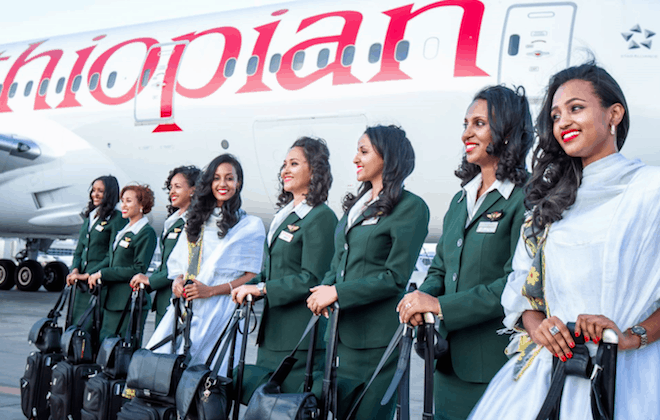 Ethiopian Airlines scoops Bombardier Aerospace's Airline Reliability Performance Award