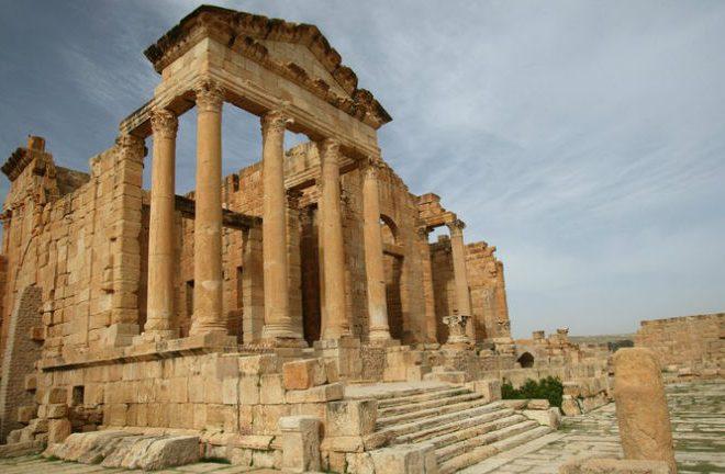 Ruins of Sbeitla, Tunisia