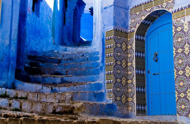 Blue Town of Chefchaouen, Morocco
