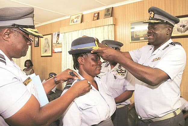 Zimbabwe's air force gets first female air commodore