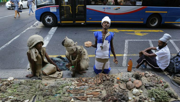 Sackcloth people: South Africa