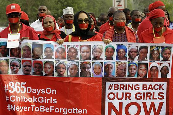 Inside a #BringBackOurGirls protest