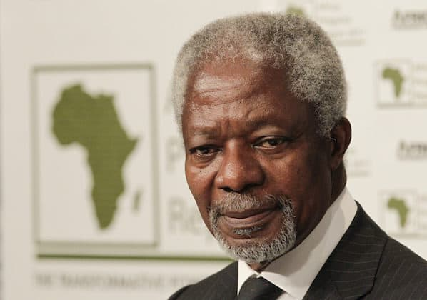 """I stand by the ICC"", Kofi Annan says"