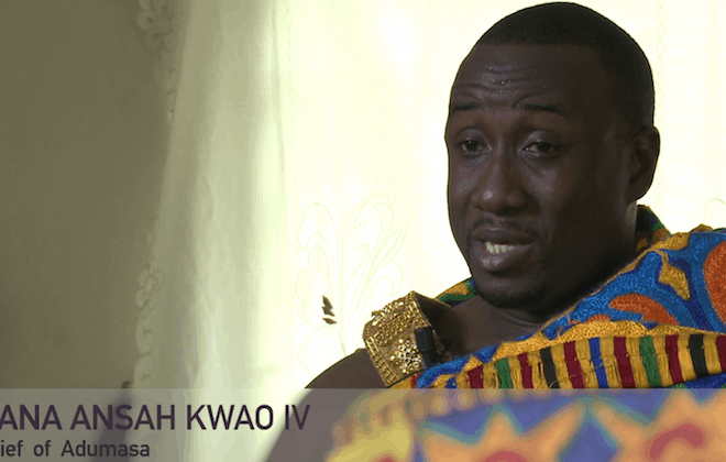 WATCH: What's it like being a king in Ghana?