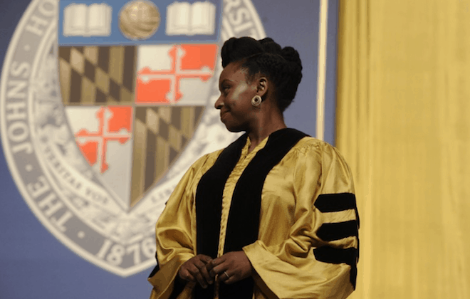 You can now call her Dr Adichie