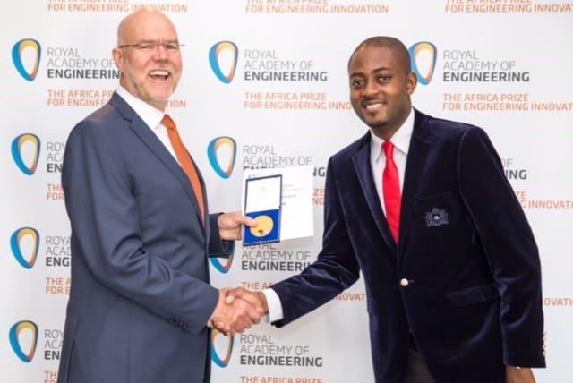Cameroonian innovator Arthur Zang wins Engineering Innovation Prize for Cardio-Pad