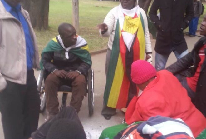 Zimbabwean activists arrested in Africa Unity Square protest