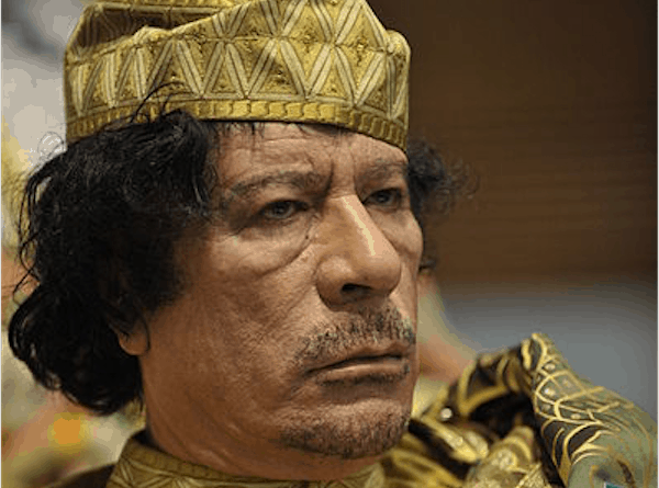 The truth about Gaddafi: He was no friend of Africans. He only wanted to rule them