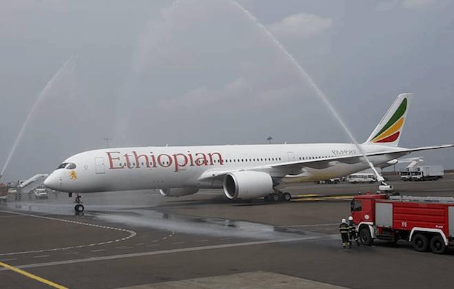 Ethiopian Airlines acquires Africa's First Airbus A350 XWB