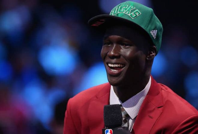 Milwaukee Bucks draft 19 year-old South-Sudanese basketball sensation Thon Maker