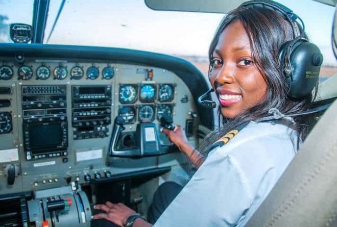 Meet Besa Mumba Zambia's youngest commercial pilot
