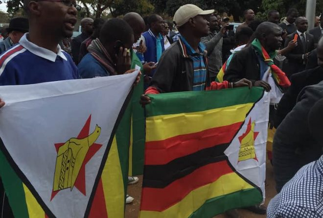 Pictures: #ThisFlag campaign leader Evan Mawarire makes first court appearance at Harare Magistrate's court