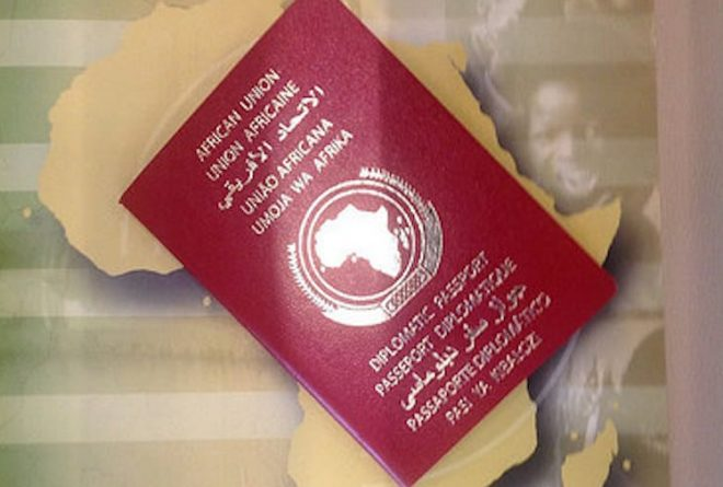 African passport for African Heads of State
